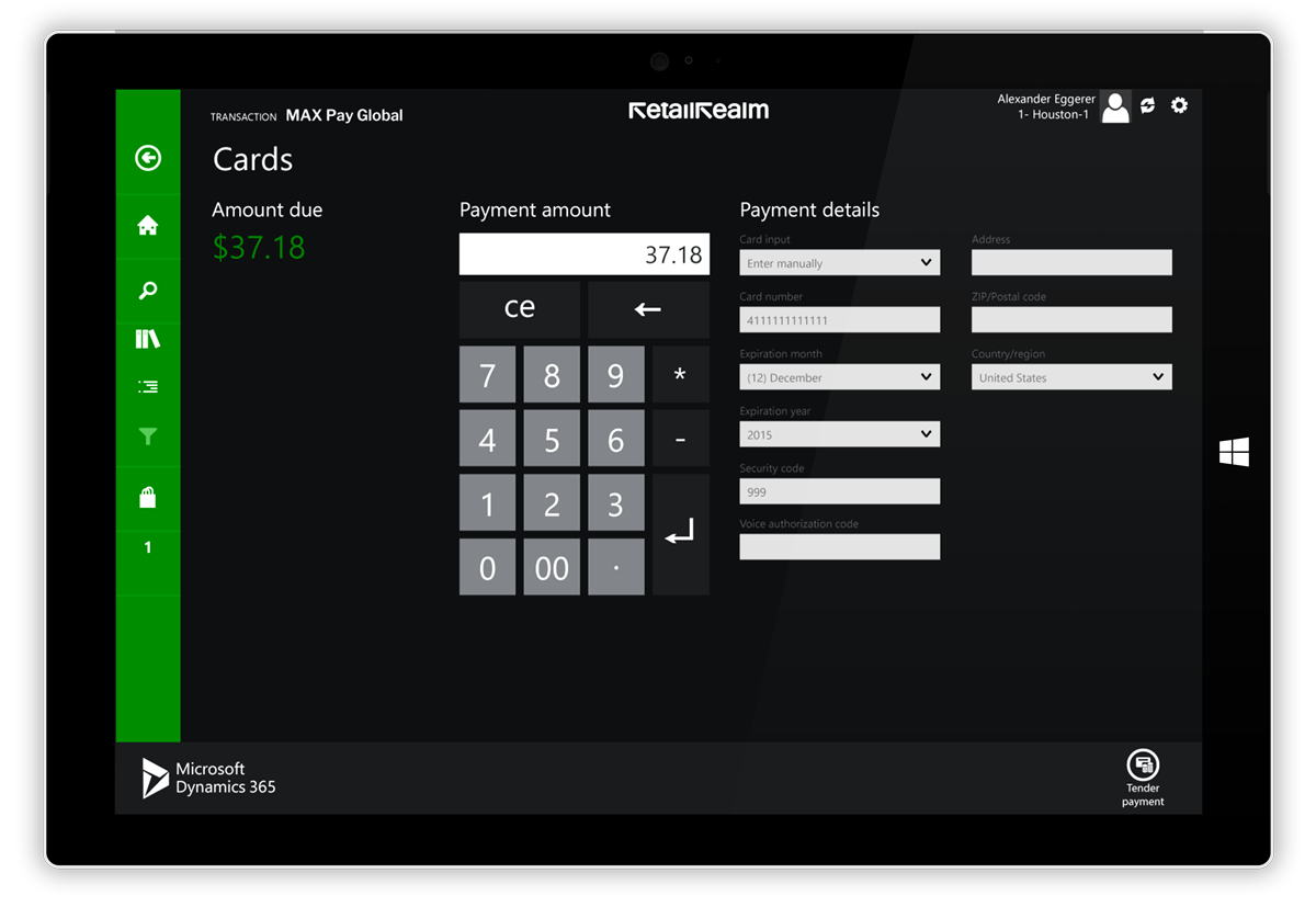MAX PAY Global - Microsoft Dynamics Payment Processing